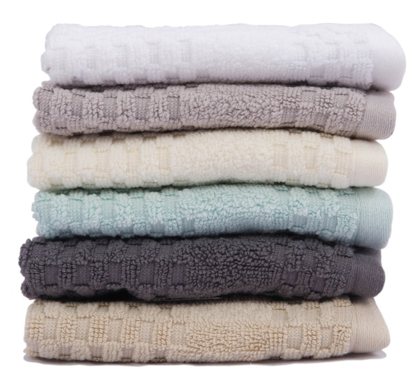 MICROLUSH TOWEL Diamond Dobby Stack